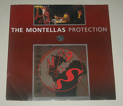 "The Montellas 12"" 3Track Ep Protection Mint 1987 611585"