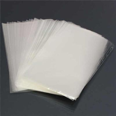 "1000 Clear Polythene Plastic Bags 7""x9"" 80g LDPE Food Open Ended"