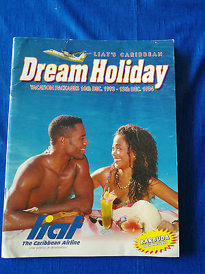 LIAT Caribbean Holiday Brochure,1994, 72 pages
