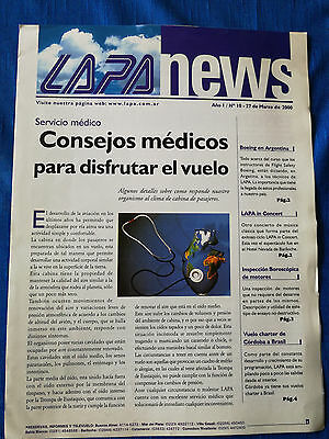LAPA News Letter March 2000