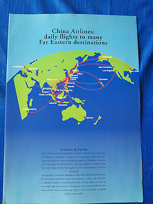 CHINA AIRLINES Image Brochure