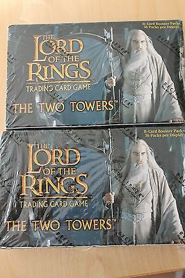 Lord of the Rings - The Two Towers Booster Display Englisch