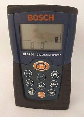 Bosch DLR130 Distance Measurer Laser Range 130ft