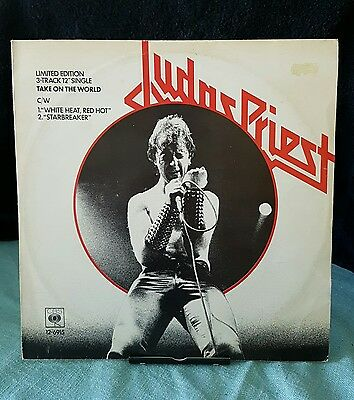 "Judas Priest - Take On the World 12"" - Limited Edition - 12 - 6915"