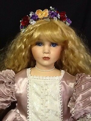 """""""Guinevere"""" Seymour Mann Doll With Stand and Tags"""