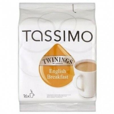 Tassimo Twinings Breakfast Tea 3x16S. Shipping Included
