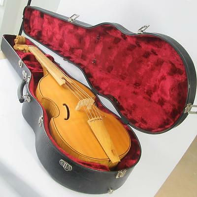 "Six String 20"" Norfolk Hardwood Viola da Gamba in Padded Hard Case - 1981"