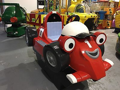 Coin Operated Roary The Racing Car Kiddie Ride