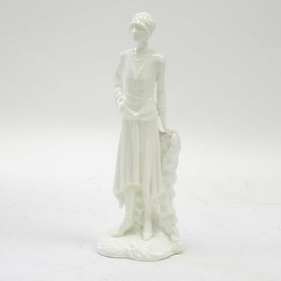 """Royal Worcester """"Millie 1926"""" Bone China Figurine - The 1920s Vogue Collection"""