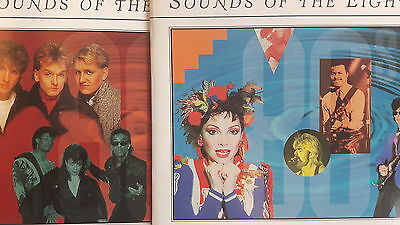 Sounds Of The Eighties – Lot of 2 CD Time Life Pop/Rock