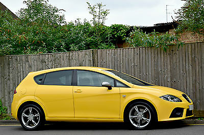 Seat Leon Fr 2.0 Tdi [170] Diesel Manual 5Dr Hatchback 2006 [06] Yellow