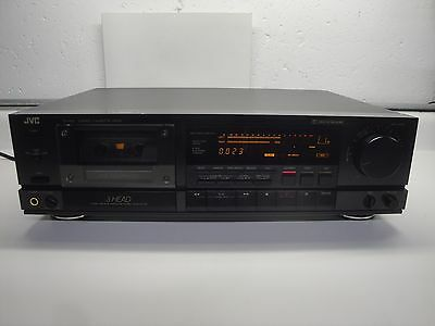 Vintage JVC TD-V621 High End 3 Head single Cassette Deck JAPAN  rare FREE SHIP !