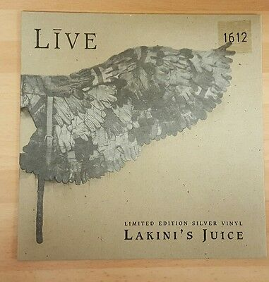 "Live 'lakini's Juice' - 7"" Numbered Silver Vinyl"