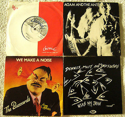 LOTE SINGLES EPs PUNK ROCK NEW WAVE 77 80s