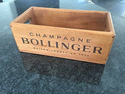 Small Bollinger Champagne Vintage Style Antique Wooden Box