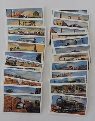 Glengettie Tea History of the Railway Series 1 Full Set