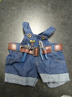 16 inch  bear clothes   trousers with tools used