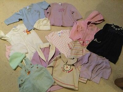 girls clothes bundle aged 6-9 months