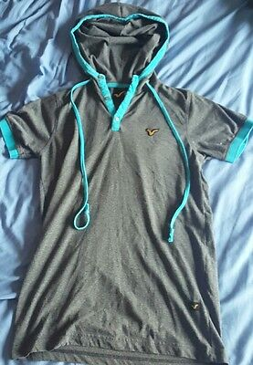 Mens Voi Jumper Hoody - Size Small