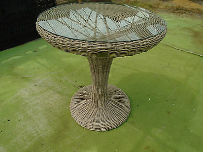 4 Seasons Outdoor Furniture Victoria Bistro Table with Glass