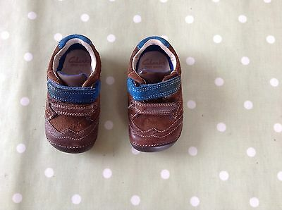 Clarks First Shoes Size 3.5G Boys Vgc