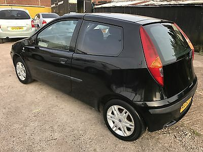 Excellent Run Around Car, 2003(52) Fiat Punto 1/2L Active