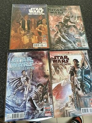 Marvel Star Wars Shattered Empire 1-4 Complete