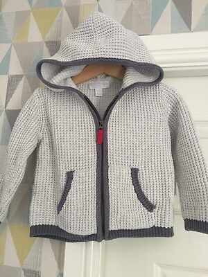 The Little white Company Baby Boys Cardigan 12-18 Months