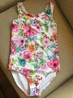 Next Girls Swimsuit/ Swimming Costume - Age 12.  White Floral