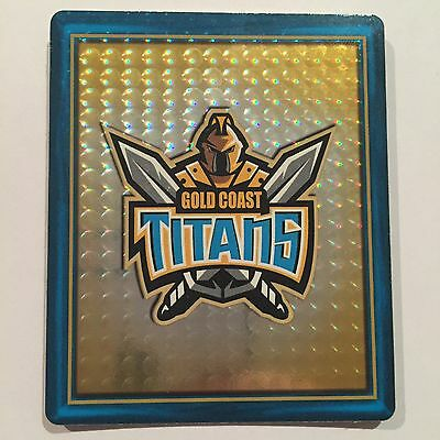 2009 Rugby League Footy Frame TAZO  #20 Gold Coast Titans Trio Card