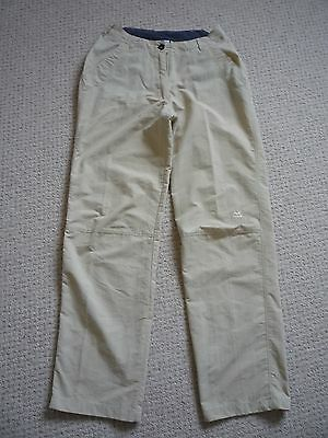 Womens Mountain Equipment Lightweight Walking Trousers Size 10 (Small)