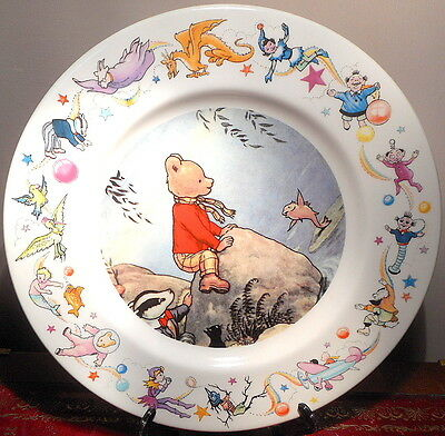 Wedgwood  Rupert Bear Dinner Plate In Boxed Perfect Condition