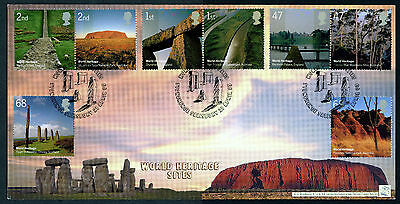 Fdc 2005 Covers By Bradbury Ltd 141-500 Sovereign World Heritage Sites