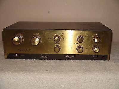 Vintage Dynaco PAS 2 Stereo PreAmplifier Needs Tubes  for Parts or Repair