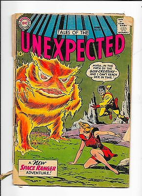 Tales Of The Unexpected #50 DC Comics (1960) Detached Cover