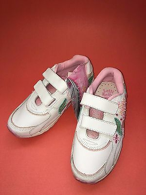 Lelli Kelly girls sneakers Leather. White Size 31 Eur,  13 US. New. Sale