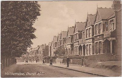 Church Hill - Street View - Walthamstow - London - Postcard By Frith
