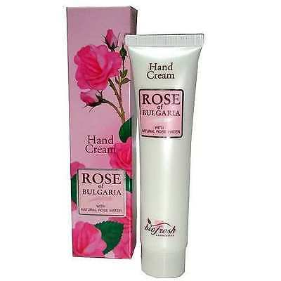 Hand Cream with Natural Rose Water, Paraben Free