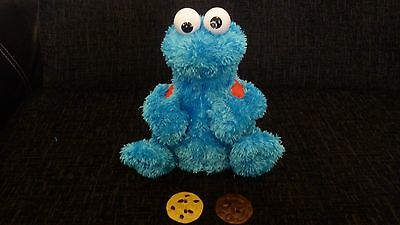 Sesame Street Cookie Monster Count and Crunch Toy Rare Collectible + 2 Cookies