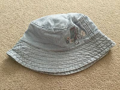 Baby girls cute summer hat with bunny rabbits NWOT 3 - 6 - 9 months