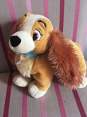 Large Lady Soft Toy Disney Store Lady and the Tramp