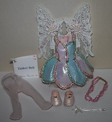 """8"""" Madame Alexander MA Pink Sparkly Outfit tagged TINKER BELL w/wand!"""