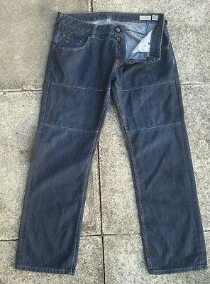 "Duck And Cover Tracker Blue Jeans Low Loose Fit  Size Waist 38"" / Used Condition"