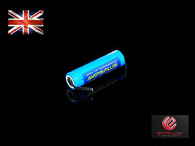 3.2v 14500 500mAh AA IFR Rechargeable Li-FePO4 Battery with Tab's Tag's Solar UK