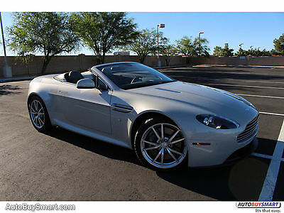 2014 Aston Martin Vantage Vantage 2014 Vantage Convertible! 154K MSRP NEW! LOADED! CLEAN CARFAX!