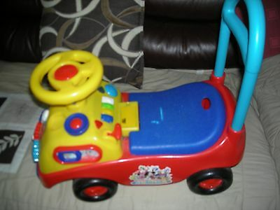 Mickey Mouse Club House Sit & Ride Toy Childs