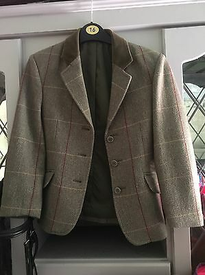 childs tweed show jacket 26