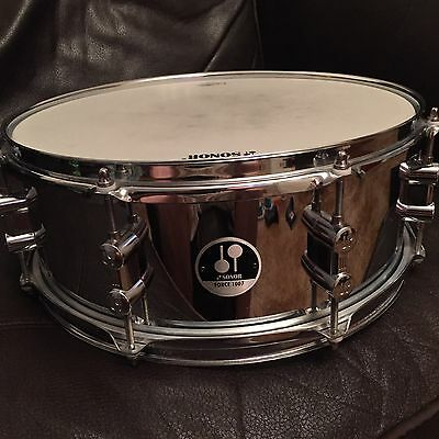 "Snare Drum. Sonar Force 14""x5.5 Steel Snare Drum"