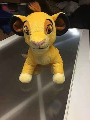 Disney Baby Dreamy Sounds Soother Musical Plush Simba Cloud b Crib Stroller A22