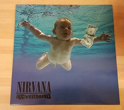Nirvana 'nevermind' Original Vinyl Lp